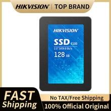 O estado sólido interno de hikvision e100 conduz 128gb 256gb 512gb 1tb 2.5 tsata iii 6 gb/s ssd interno 3d tlc para o portátil