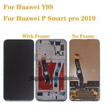 """659 """"Новый ЖК дисплей для huawei y9s stk l21 l02 l22 lx3"""