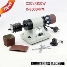 220V/110V 8000RPM Leather Polishing Burnishing Machine Leather Edge Grinding Kit