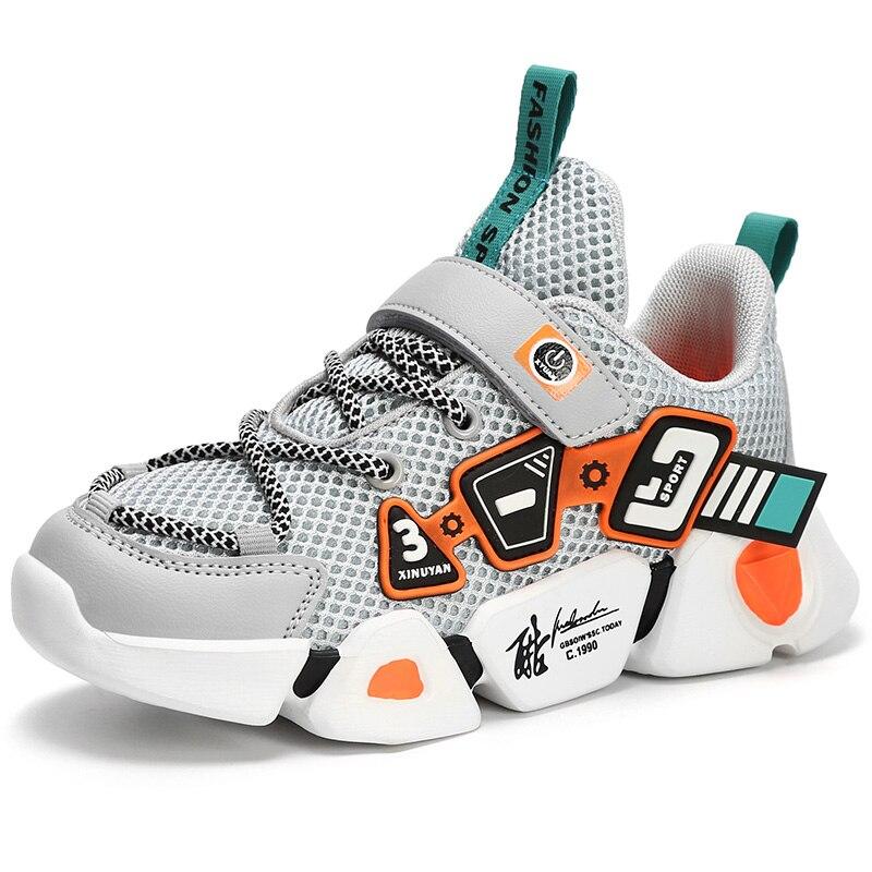 para meninos sapato esportivo infantil de corrida com fundo macio 02