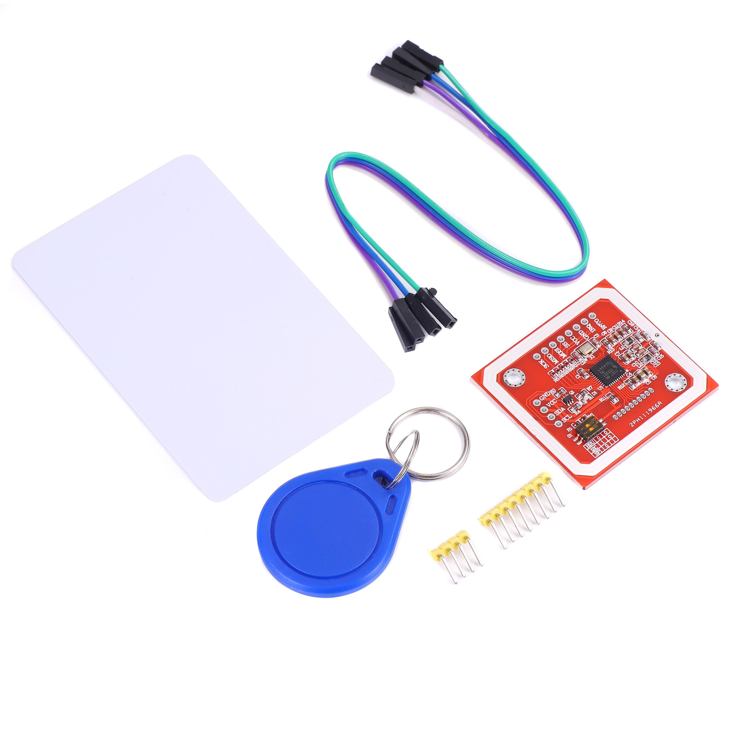 PN532 NFC RFID Беспроводной модуль V3 пользовательские комплекты считыватель писатель режим IC S50 карта PCB Attenna I2C IIC SPI HSU для Arduino