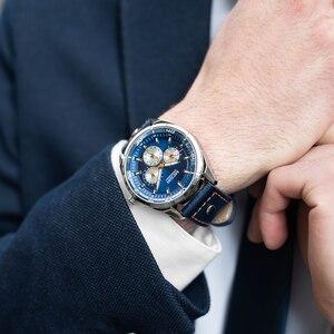Image 5 - MEGIR kreatywne zegarki wojskowe mężczyźni luksusowa marka zegarek kwarcowy Sport Wrist Watch mężczyźni Relogio Masculino Erkek Kol Saati