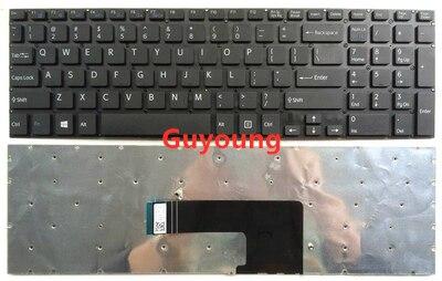 US English Laptop Keyboard For Sony VAIO SVF152C29V SVF153A1QT SVF152 SVF15A100C SVF152100C SVF153 SVF1521Q1RW