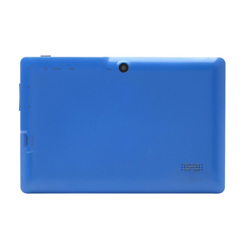 7 inch Android Google Tablet PC 4.2.2 8GB 512MB DDR3 Quad-Core Camera Capacitive Touch Screen 1.5GHz WiFi blue 5