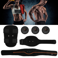 Exercise EMS Vibration Abdominal Muscle Stimulator Gym Equipment Smart Slimming Body Trainer Belt Fat Burning USB Rechargeable