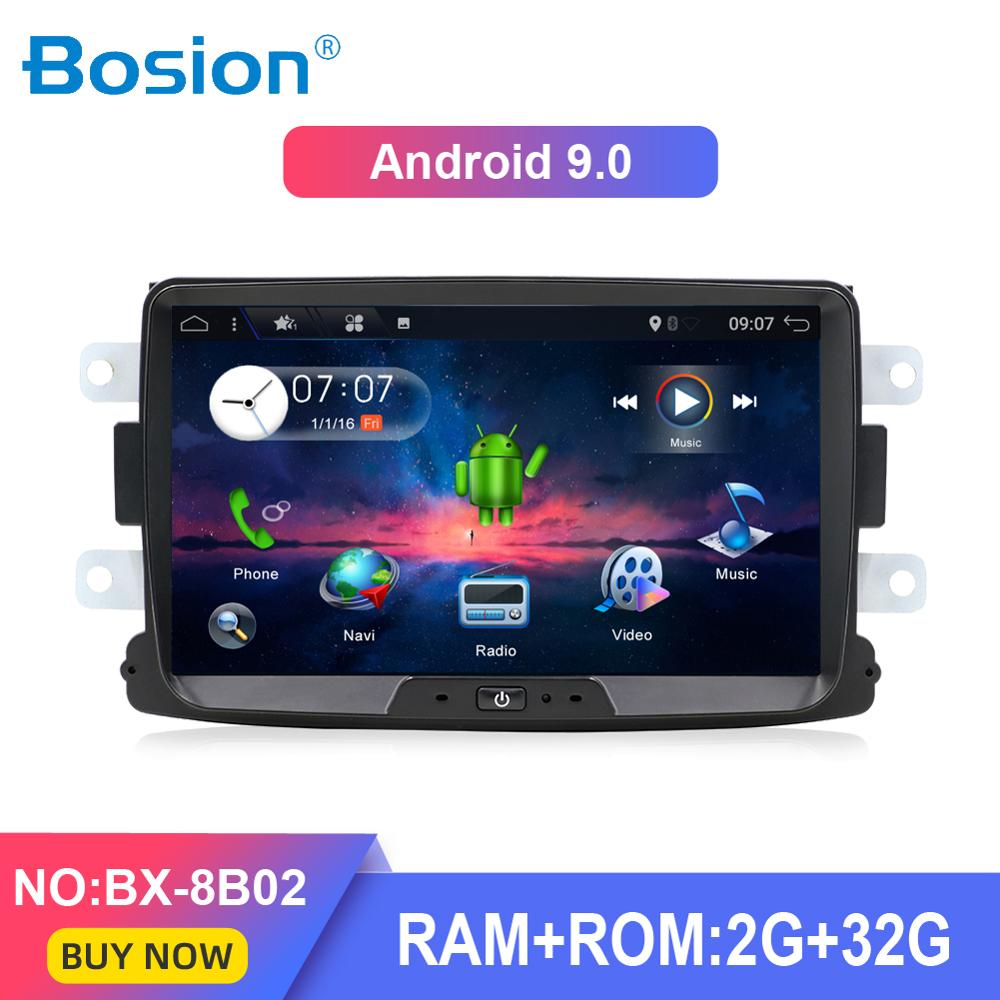 1 DIN Android 9 0 8 Inch Car DVD Player For Dacia Sandero Duster Renault 2