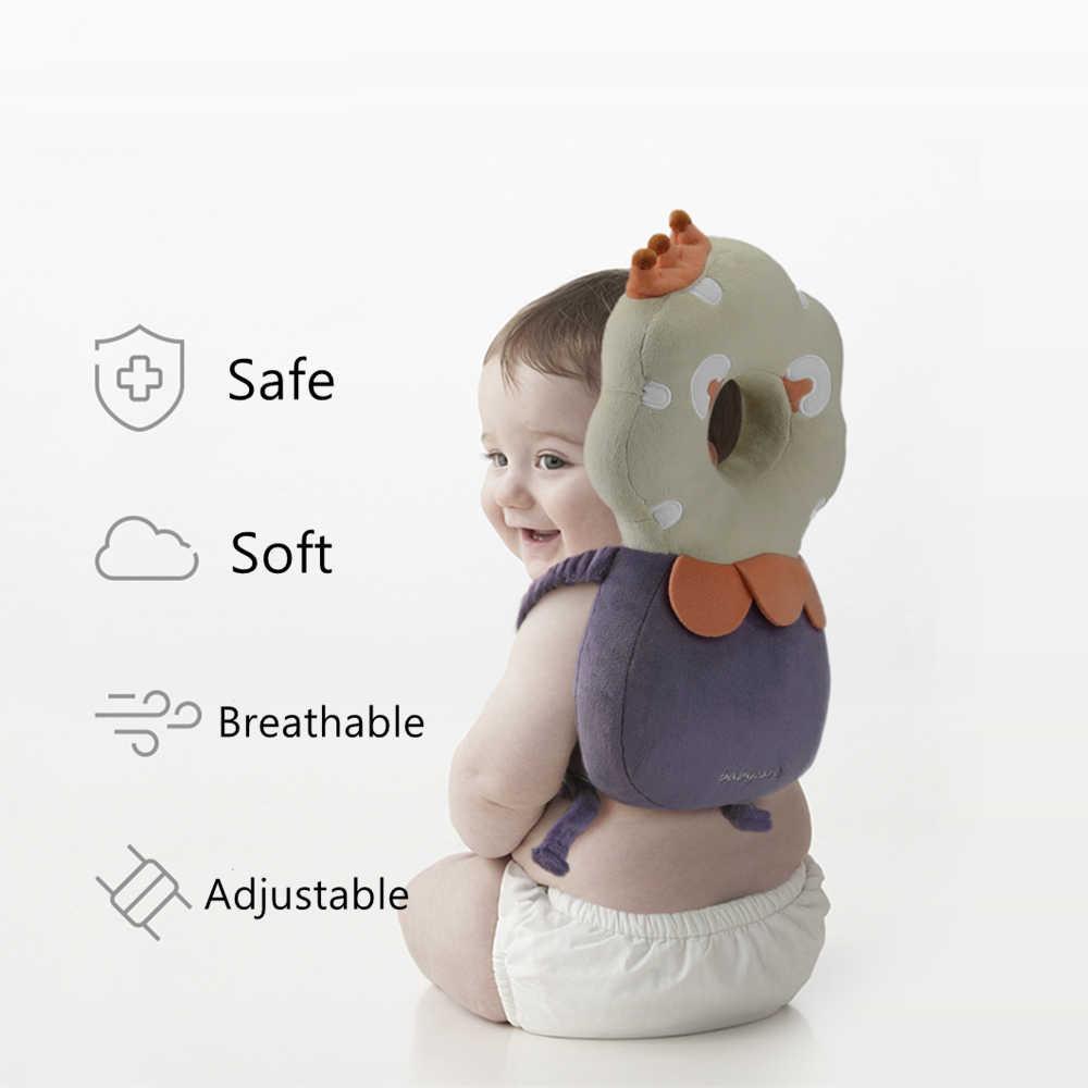 BC Babycareฝ้ายเด็กป้องกันหัวหมอนทารกAnti-Fallปรับนุ่มหมอนเด็กวัยหัดเดินป้องกันเบาะรองนั่งเด็กปลอดภัยCare