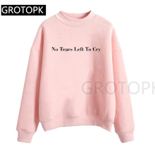 Ariana Grande Sweatshirts No Tears Left To Cry Hoodie Women