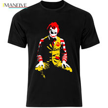 Joker Banksy Parody Funny Heath Ledger Wall Graffiti Mens Tshirt Tee Top AC15 Classic Cotton Men Round Collar Short Sleeve