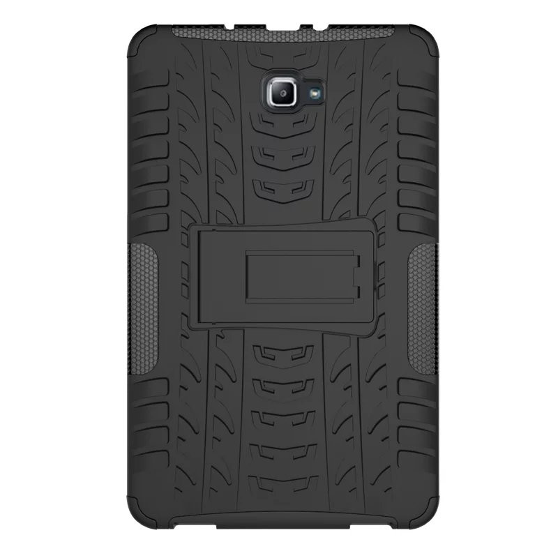 Silicon TPU+PC shell Shockproof Armor case For Samsung Galaxy Tab A A6 10.1 T580 <font><b>T585</b></font> T580N T585N 10.1 inch Tablet case +FilmPen image