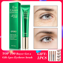 EFERO Lightening Eye Cream Anti Puffiness Dark Circle Removal Night Repair Hyaluronic Acid for the Eyes Moisturizer Eye Care 20g