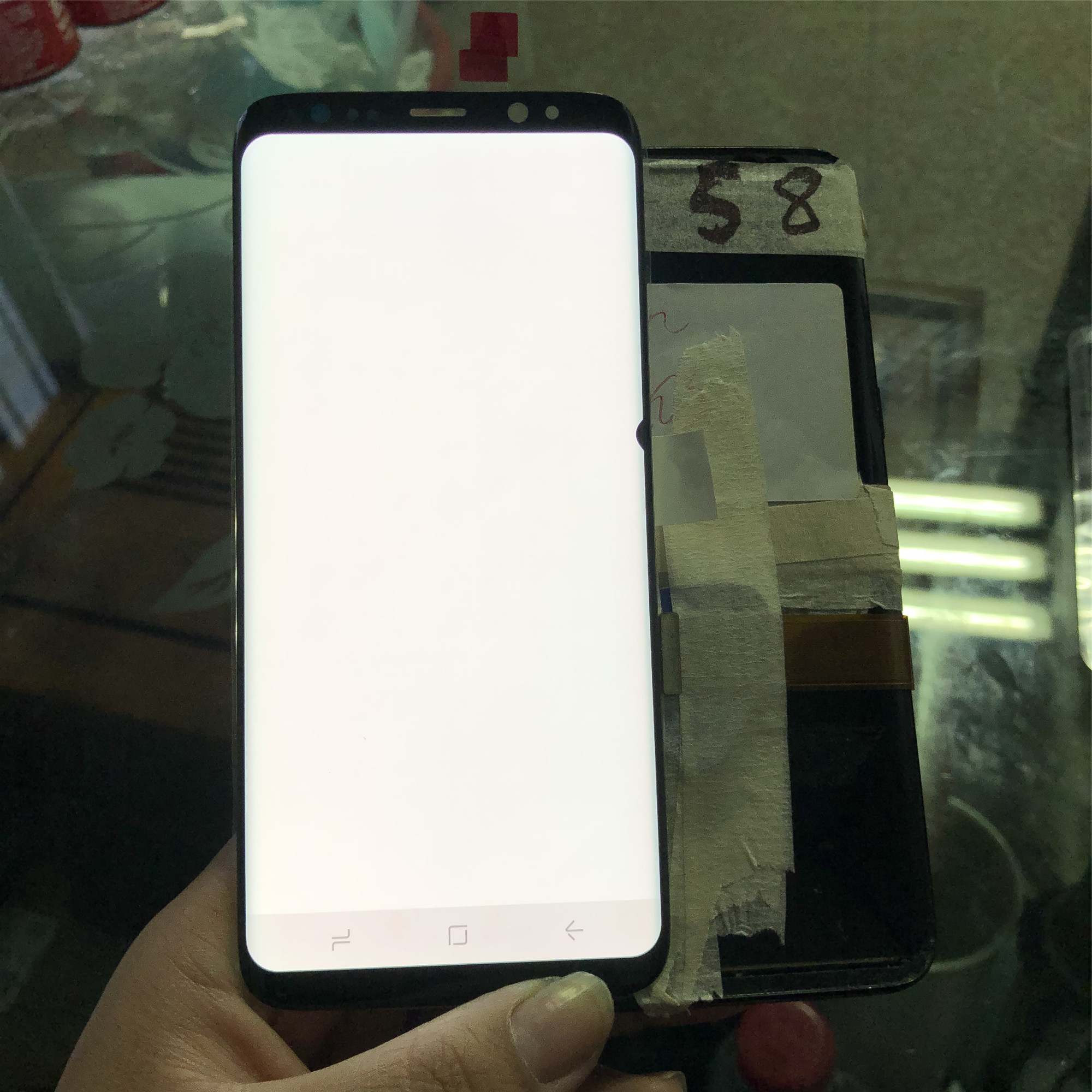 LCD Replacement For <font><b>Samsung</b></font> Galaxy <font><b>S8</b></font> G950 G950F G950U <font><b>G950FD</b></font> LCD <font><b>Display</b></font> Touch Screen Digitizer with dead pixel image