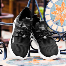 2019 Shoes Men Sneakers Flat Male Casual Shoes Comfortable Running Men Footwear Breathable Mesh Sports Tzapatos De Hombre(China)