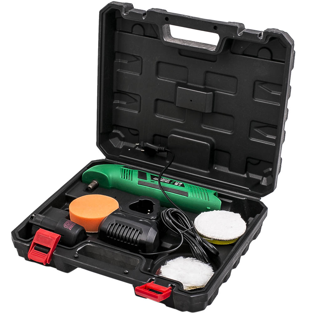 12V Battery Adjustable Speed Waxer Polisher Waxing Polishing Machine 0 3000 rpm   - title=