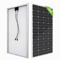 100W 18V Monocrystalline Solar power Panel for 12V Battery Charger Car Home 200w 400w 600w 800w 1000W solar panels system kit