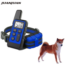 Pet Dog Training Collar Waterproof Remote Control Rechargeable LCD for Small Big Dogs sound Anti-Bark Training Receiver 40% Off(China)