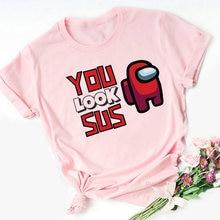 Лидер продаж футболка с надписью «you look sus Женская Футболка