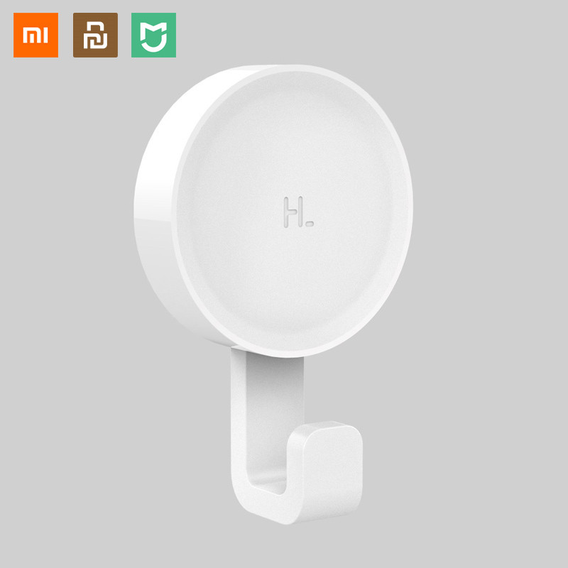 Hot Xiaomi Mijia Little Adhesive Hooks Strong Bathroom Bedroom Kitchen Wall Hooks 3kg Max Load Up New Arrival In Stock