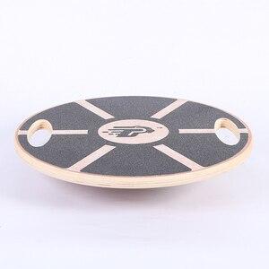 Wooden Balance Board Plate Yog