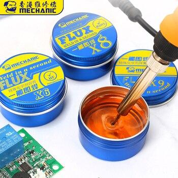 цена на MECHANIC Rosin Flux Solder Paste X6/X8/X9 BGA Soldering Paste Flux For Welding Soldering Iron Fluxes for PCB BGA Welding Tool