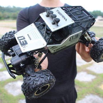 1:16 4WD RC Car Updated Version 2.4G Radio Control RC Car Toys Remote Control Car Trucks Off-Road Trucks Boys Toys For Children