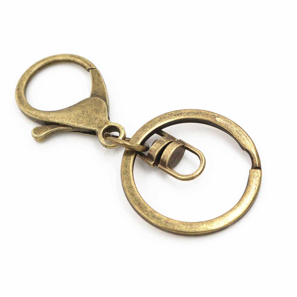 5 ชิ้น/ล็อต 30 มม.แหวนยาว 70 มม.คลาสสิก 8 สีกุ้งก้ามกราม clasp Hook CHAIN เครื่องประดับทำพวงกุญแจ