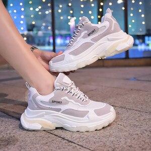 Image 4 - Mbr força mulheres chunky tênis 2020 plataforma de moda das senhoras marca cunhas sapatos casuais para mulher aumento da altura sapatos