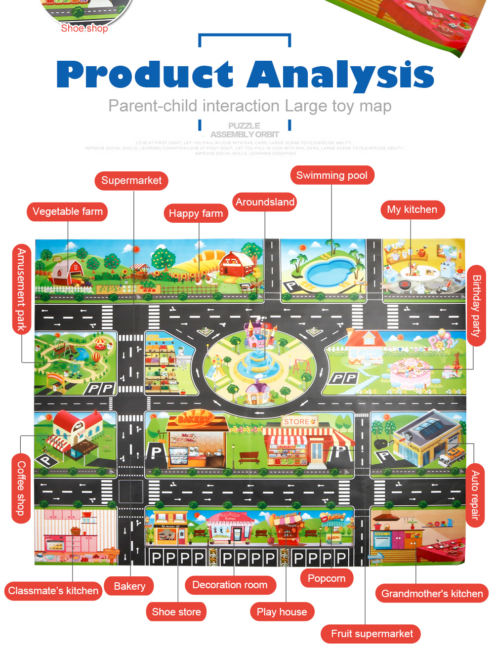 H4ca0b39591854e03aac1a4c973b3bc58T Large City Traffic Car Park Mat Play Kids Rug Developing Baby Crawling Mat Play Game Mat Toys Children Mat Playmat Puzzles GYH