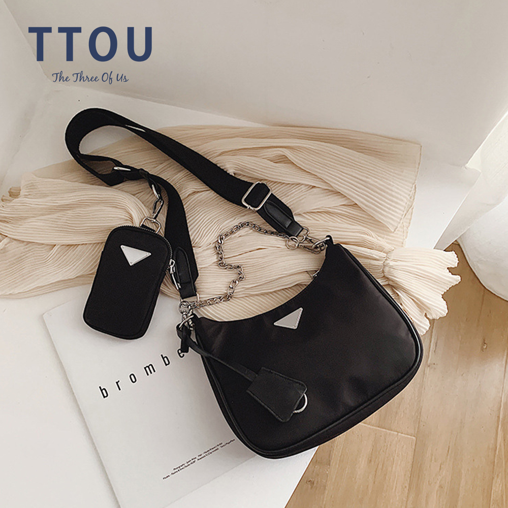 Newst Canvas Women Crossbody Bag Handbags Famous Luxury Designer Female Shoulder Messenger Bags Retro Casual Tote And Purse