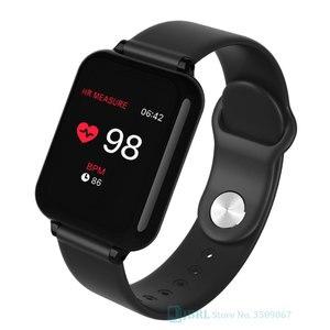 SmartWatch With Pressure Measurement Fitness Tracker Smart Clock For Andriod Ios Cardio Pedometer Men Women Sport Smart watch(China)