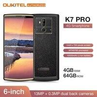 OUKITEL K7 Pro 4G Оперативная память 64G Встроенная память Смартфон Android 9,0 MT6763 Octa Core 6,0
