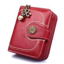 Women's Wallet vintage wallet 2020 Waxed