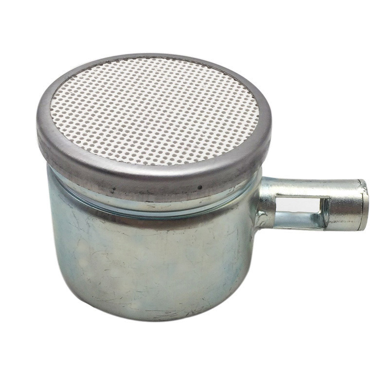 New Ceramic Plate Round Small Burner For Gas Heater Gas Boiler Deck Heater Repalcement Mini Infrared Burner Part
