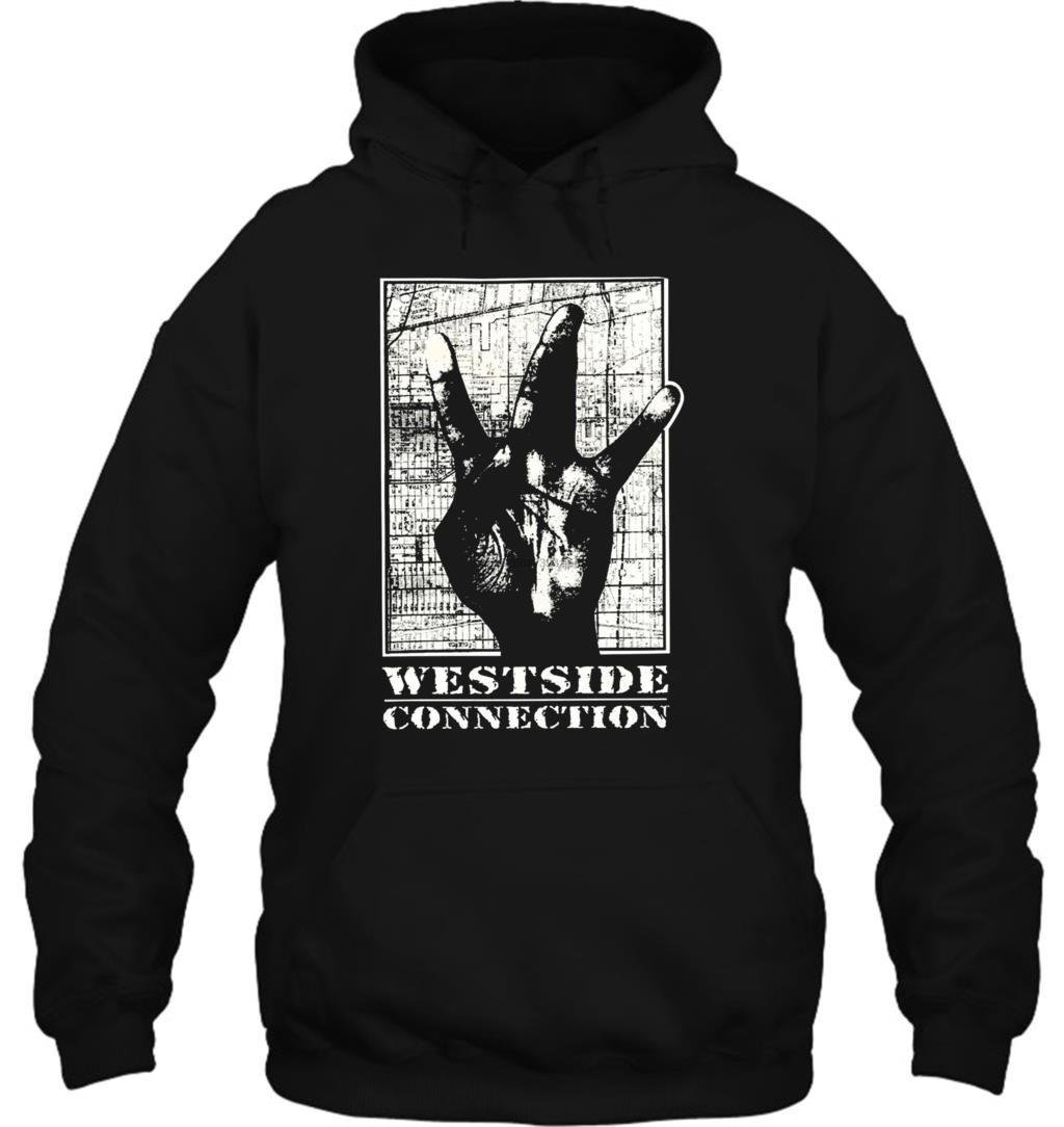Ice Cube Westside Connection Black T Shits Printing Casual Cool Casual Streetwear Men Women Hoodies Sweatshirts