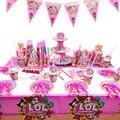 LOL сюрприз, куклы, день рождения, вечерние украшения, принадлежности, праздничная чашка, ложка, подставка для торта, мероприятие, подарок для ...