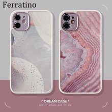 Luxury Marble Camera Protection Lid Dream Case For iPhone 12 11 Pro Max X XR XS Max SE 2020 7 8 Plus 12mini Silicone Phone Cover