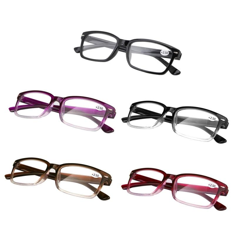 OLNYLO Reading Glasses Men Women Presbyopia Eyeglasses Antifatigue Computer Goggle Eyewear With +1.5 +2.0 +2.5 +3.0 +3.5 +4.0