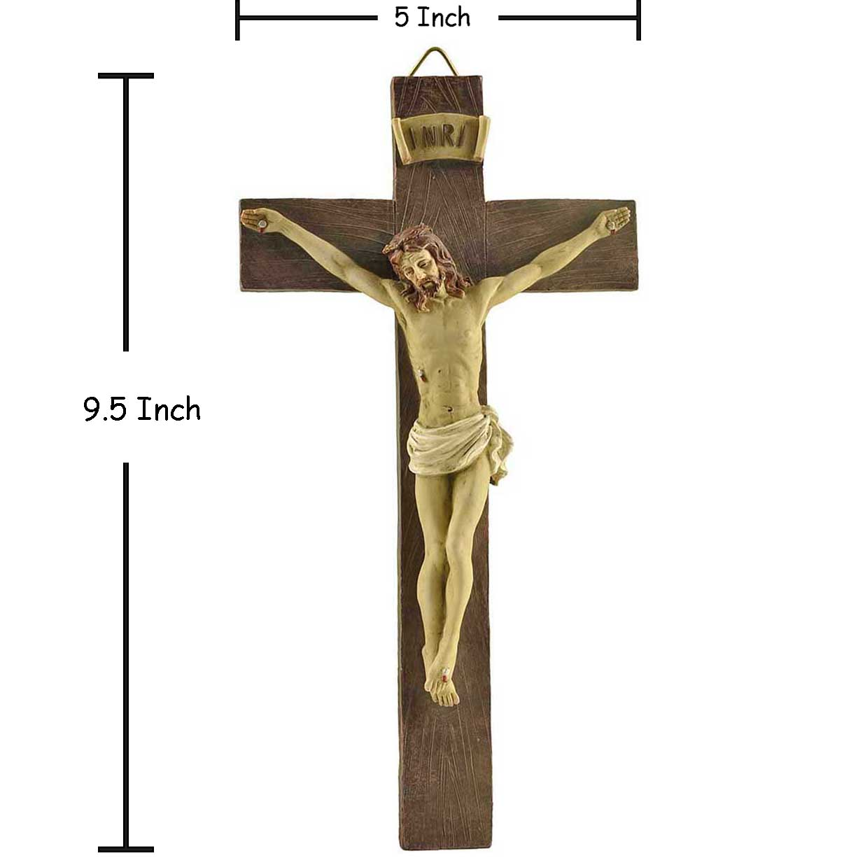Handpainted Wood Textured Crucifix Wall Cross Jesus Nailed On The Cross Religious Gift Wall Crosses Aliexpress