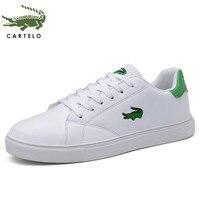Cartelo sapatos masculinos sapatos esportivos sapatos masculinos de cor sólida tendência de baixo topo sapatos respiráveis Sap. vulcaniz. masc.     -