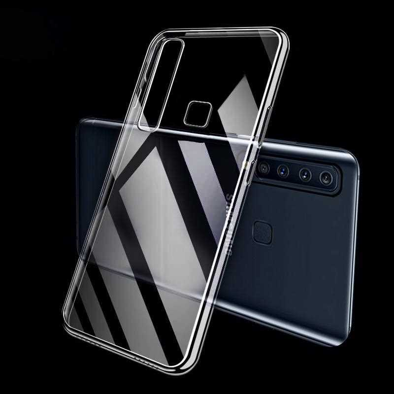 Ультратонкий Прозрачный мягкий чехол из ТПУ для Samsung Galaxy A9 Pro 2019 A8 A6 Plus A7 2018 чехол для телефона