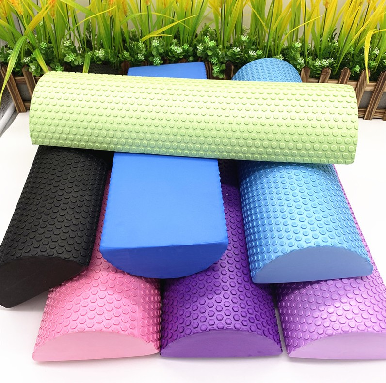 Yoga Pilates Balance-Pad Foam-Roller Massage Fitness-Equipment Floating-Point with EVA