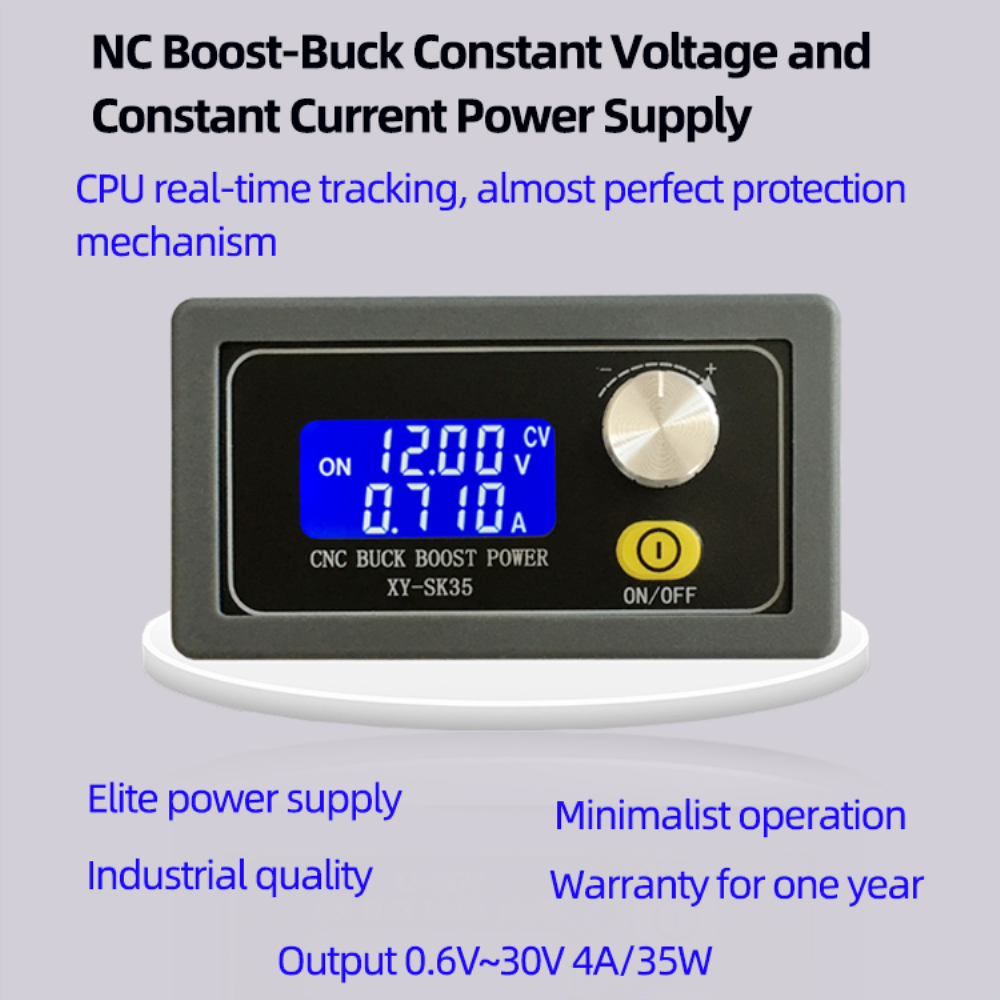 Adjustable Automatic Voltage-Up And Voltage-Down Power Supply Module Constant Voltage And Current Liquid Crystal Solar Charging