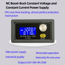 Adjustable Automatic Voltage-Up and Voltage-Down Power Supply Module