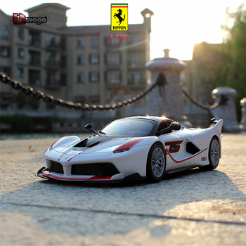 Bbuargo Ferrari 1:24 Simulation alloy super toy car model 34 styles For with Steering wheel control front wheel steering toy car large aston martin v12 vantage car model 1 18 alloy diecast car model steering wheel linkage the two front wheel collection toys