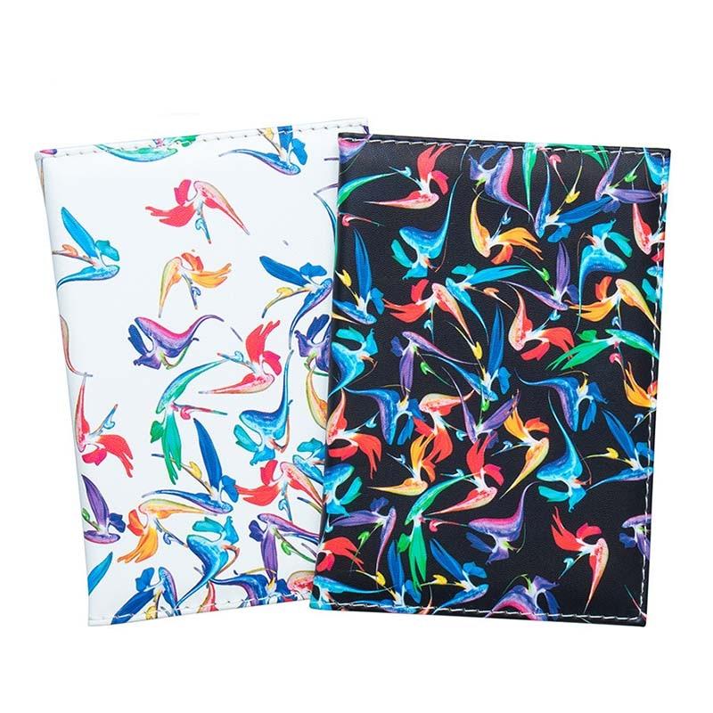 Little Bird Passport Holder ID Cover Travel Accessories Portable Bank Card Passport Women Men Business PU Leather Wallet Case
