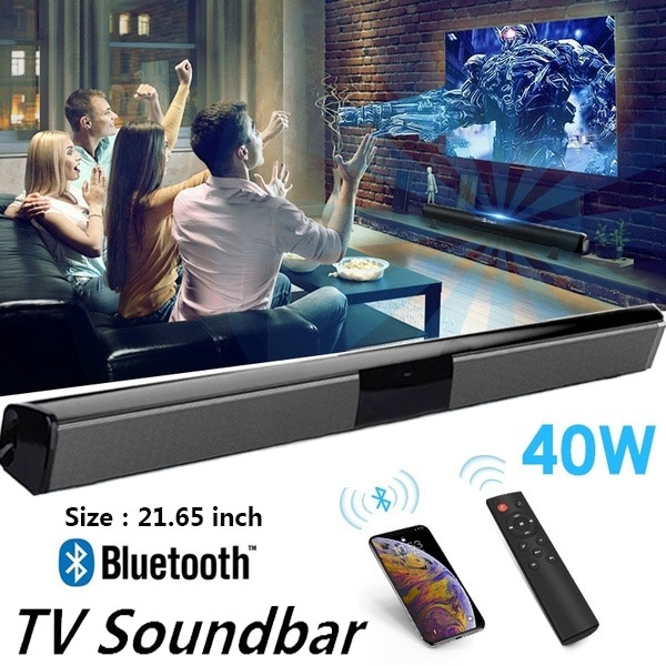 TV Sound Bar Home Theater Subwoofer Soundbar with Bluetooth Wireless Wired MY