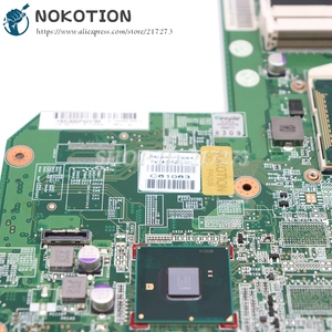 Image 4 - NOKOTION 615849 001 605903 001 Laptop Motherboard For HP G62 G72 CQ62 HM55 UMA DDR3 MAIN BOARD free i3 cpu