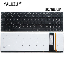 US/RU/JP Laptop keyboard for ASUS N56 N56V U500VZ N76 R500V R505 N550 N750 Q550 R501VZ R514JR R701VB with backlit