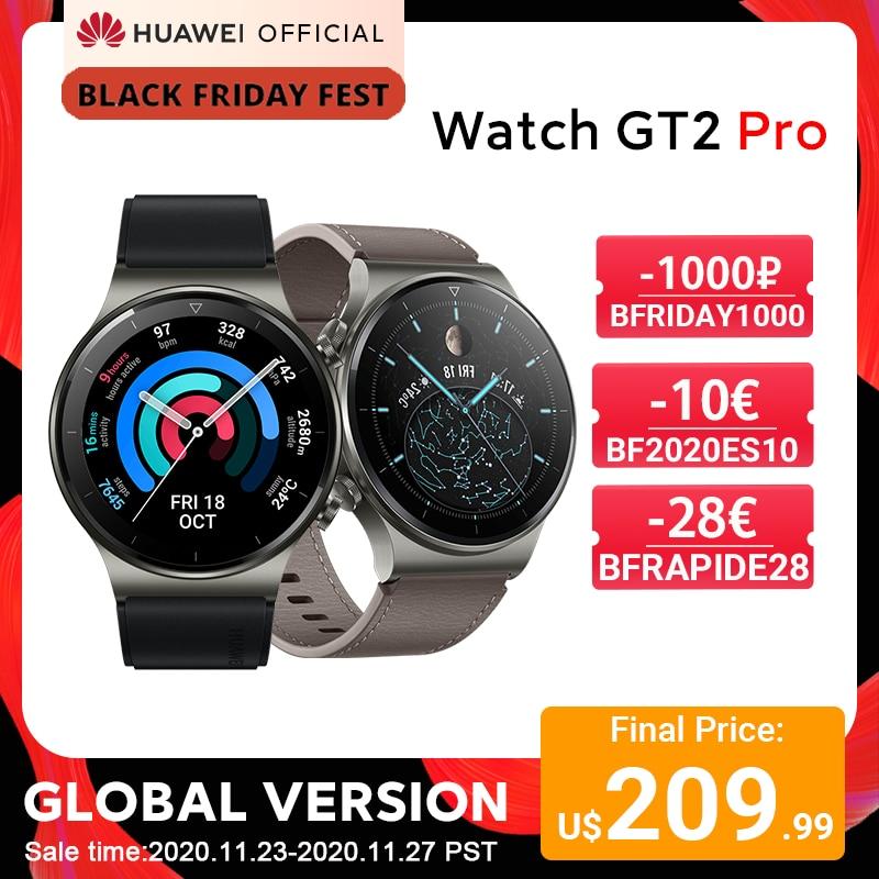 Version mondiale en stock montre HUAWEI GT 2 pro SmartWatch 14 jours d