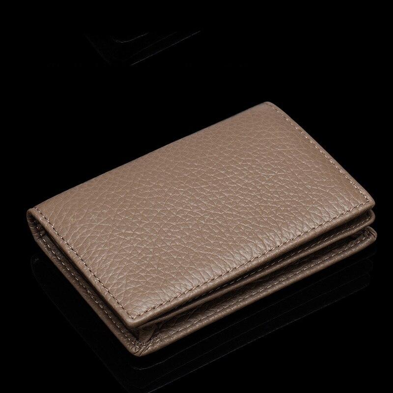 100% Genuine Leather Business Name Card Case Large Capacity Cross Crocodile Saffiano Bank Card ID Holder Custom Name Logo